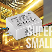 New Compact LED Drivers Designed for Integrated Lighting
