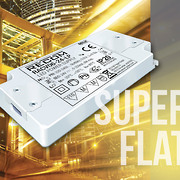 RECOM's new super-flat 11 and 13mm high LED drivers are ideal for height limiting applications