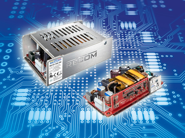 ECOM RAC150-G series encompasses switched-mode power supplies