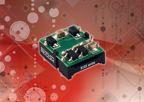 RECOM R1SX 1W unregulated DC/DC converters