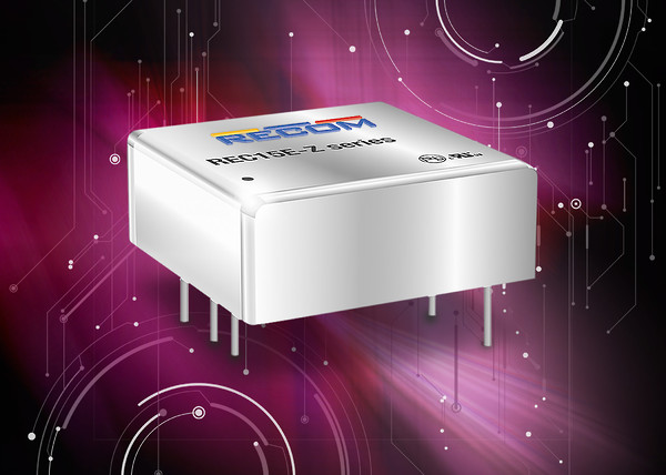 "Wide-input 1""x1"" 15W isolated converters deliver flexibility with space savings"