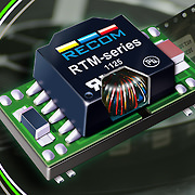 RECOM's first full SMD construction significantly improves DC/DC converter production quality and specification