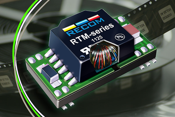 RECOM's new RAM, RAZ and RTM converter families