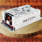 Efficient and Compact AC/DC Power Supplies offer High-Grade Medical Specifications