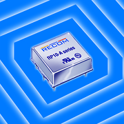 Super-Compact, Isolated DC/DC Converters Pack 10 Watts in Fully Shielded 1x1-Inch Module