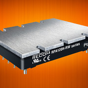 120W Half-Brick DC/DC Converters Deliver Stable, Safe and  Efficient Power for Rail and Monitoring Applications