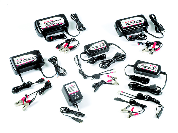 yuasa new range of battery chargers available